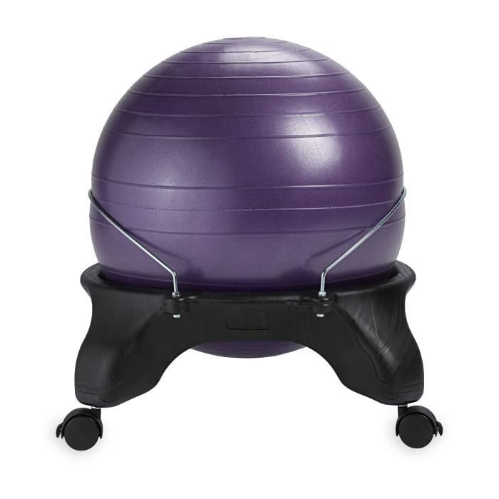 Medecine Ball JVTDB Backless Balance Ball Chair, Purple