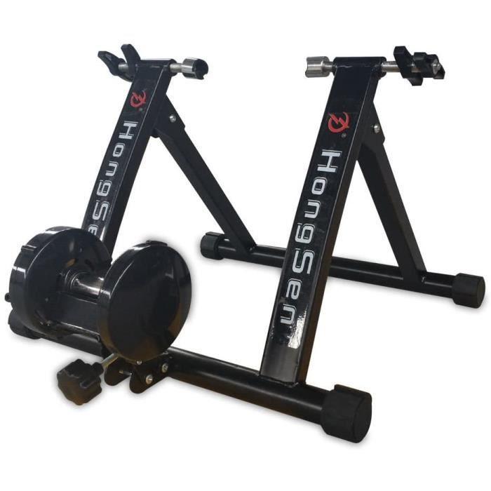 Plateforme cycliste à contrôle magnétique Formateur entraîneur de vélo de Interior Pliable avec résistance magnétique