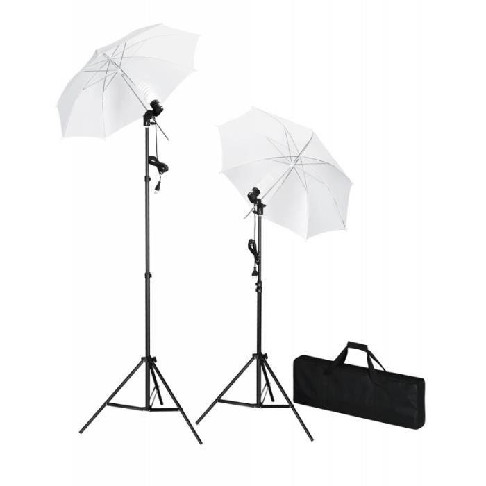 Kit d'éclairage studio photo lumière jour daylight photo vidéo studio professionnel 1802021