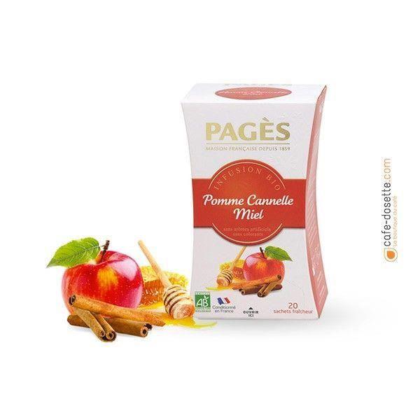 Infusion Pomme / Cannelle / Miel Bio - 20 sachets