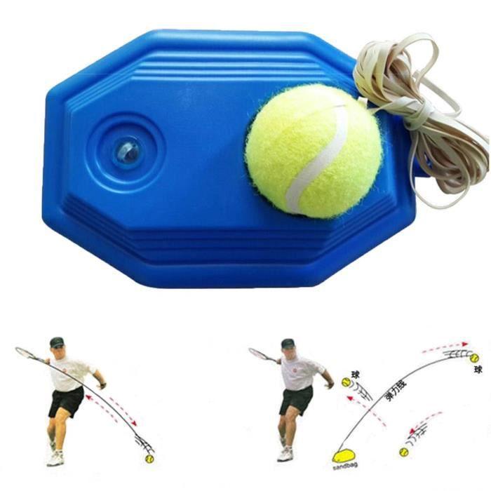 Grofitness machine Balle de tennis de tennis de rebond Ensemble de Trainer pour débutant