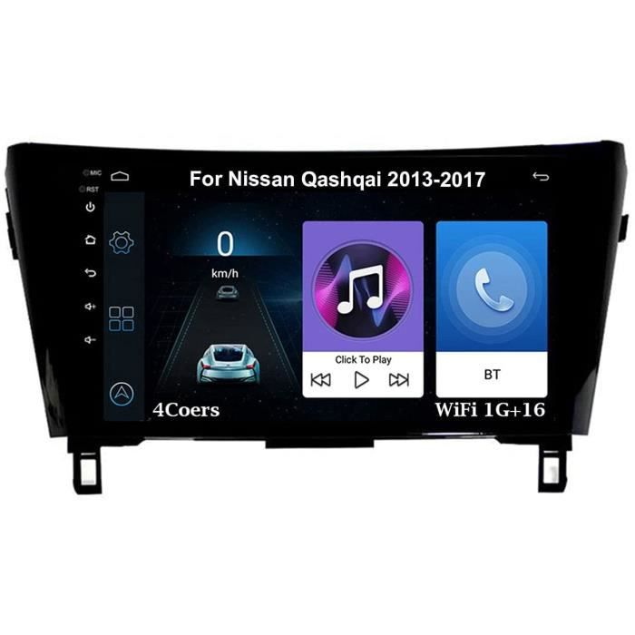 Autoradio 9 Inch Écran Tactile Voiture Multimédia Android Auto Pour Nissan Qashqai 2013-2017 Voiture Plug And Play Prend En Cha 427