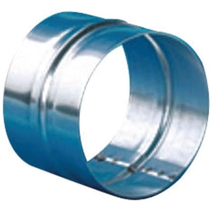 Manchon D : 80 mm - tôle galvanisée