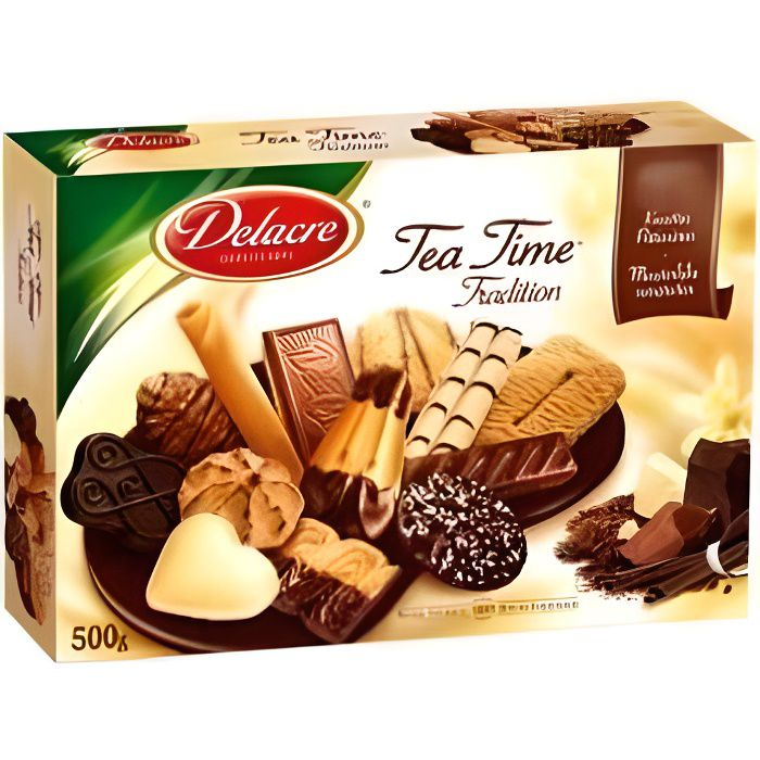 DELACRE Tea Time Tradition 500g
