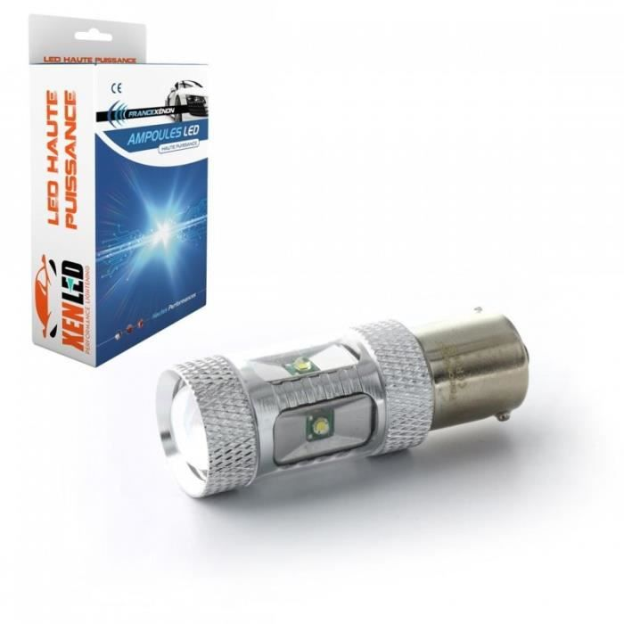 Ampoule vendue à l'unité, si vous avez deux ampoules, il faut mettre quantité x2 Pack feux de recul à LED pour votre FIAT SCUDO Com