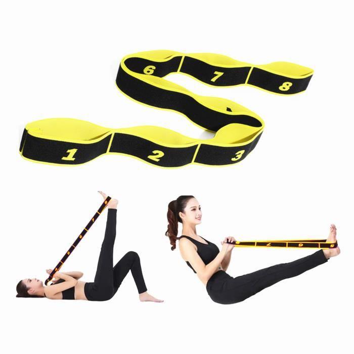 Élastique musculation yoga femmes fitness sport stretch marque Bandes de Résistance pilates danse elastiband corde ceinture sangle