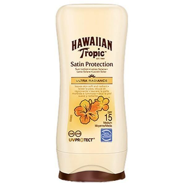 100ml - Hawaiian Tropic Lotion Protectrice SPF 15