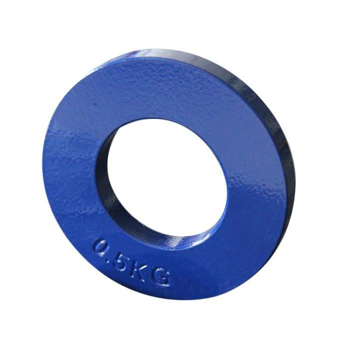 Standard Fractionnée Plaques Changement Faible Poids Disques Fraction Plaque Supplémentaires Micro Poids pour Vert 0,5 kg