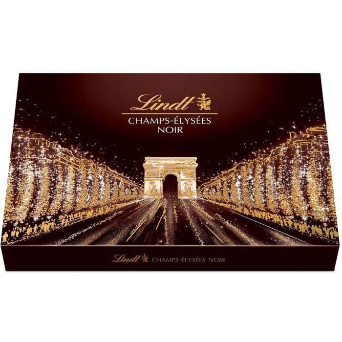 LINDT Boîte de chocolat Noir Champs-Elysées - 470 g