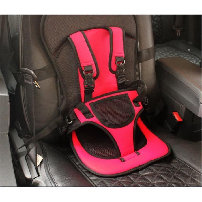 Siège de Sécurité Voiture coussin Portable Coussin Harnais transporteur pour bébé/enfants Booster Securite Car Seat