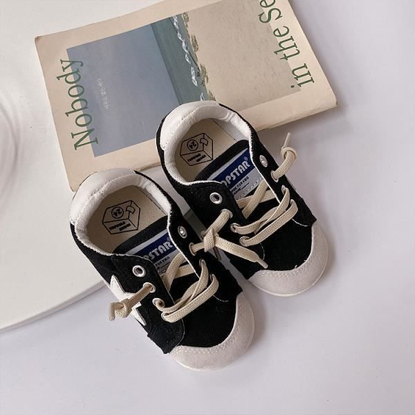 Chaussures enfants,Chaussures en toile pour enfant, chaussures de planche simples assorties avec tout, modèle décontracté