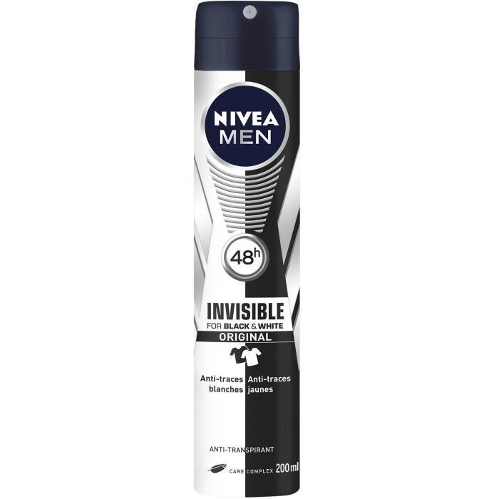 Déodorant invisible 200 ml NIVEA MEN