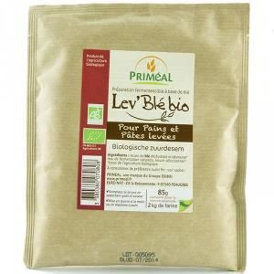 PRIMEAL - Lev Ble bio - Pour pains et pates levees 85 g - Preparation fermentescible a base de ble