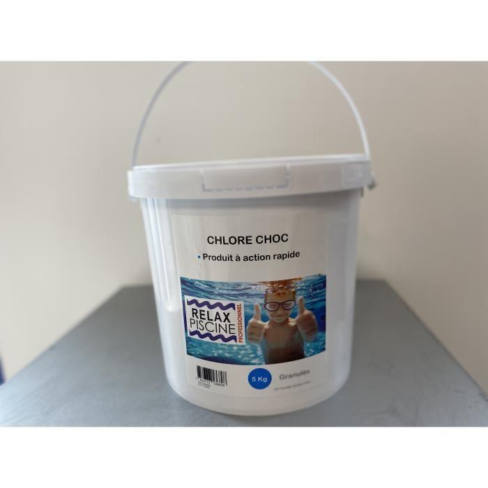 Chlore Choc pour piscine et spa 5 kg