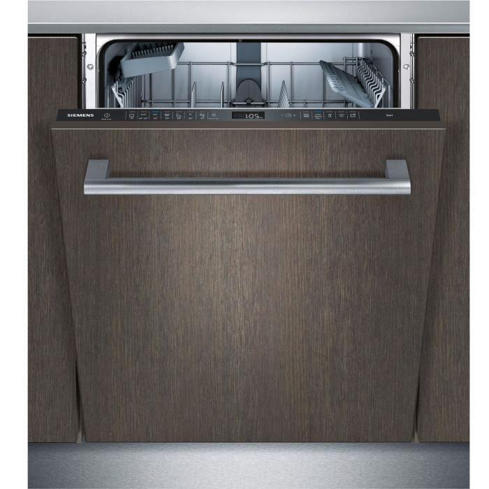 siemens - lave-vaisselle 60cm 13c 44db a++ tout intégrable - sn658x03je