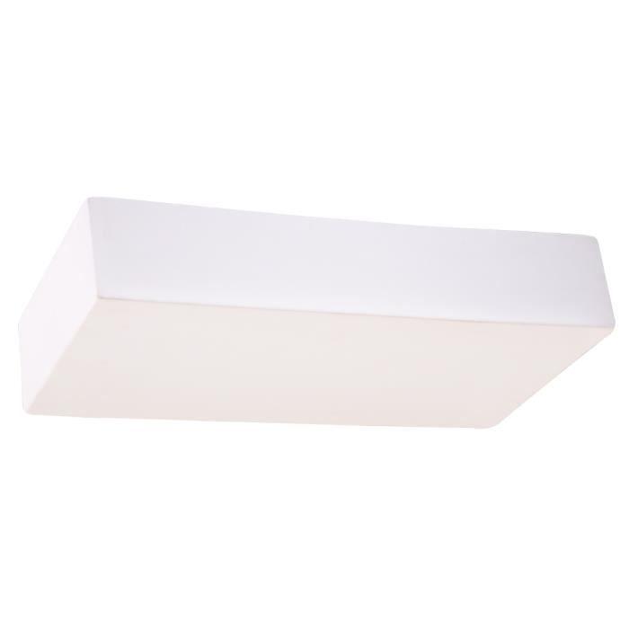 Applique Murale Céramique TAUGAN E27 Lampe Murale Moderne BOHO Design Couloir - Blanc