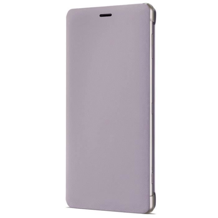 Sony Style Cover Stand pour XZ2 Rose