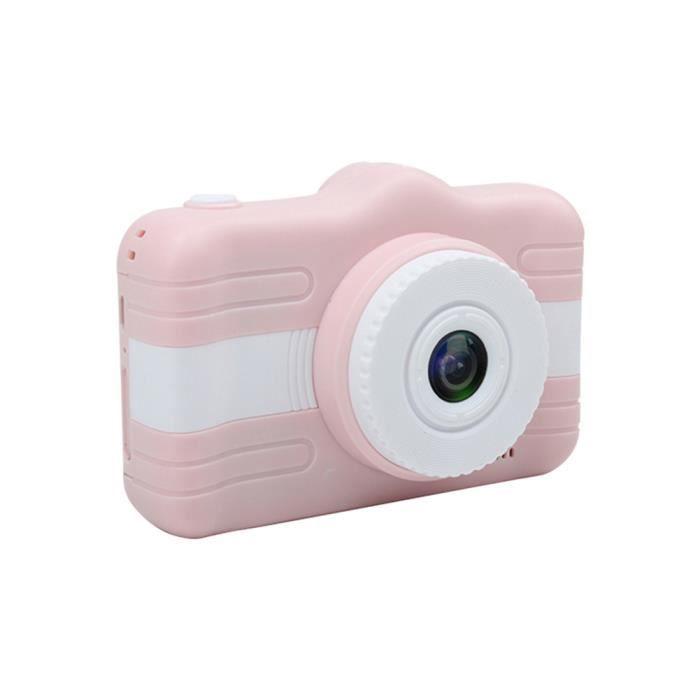 Mini-appareil-photo portatif d'enfants d'appareil-photo numérique d'enfants avec l'écran HD de 3,5 -(Rose)