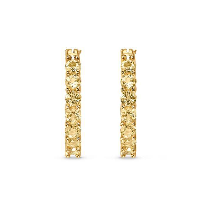 Boucle D Oreille - SWAROVSKI - Boucles d'oreilles Swarovski Vittore dorées
