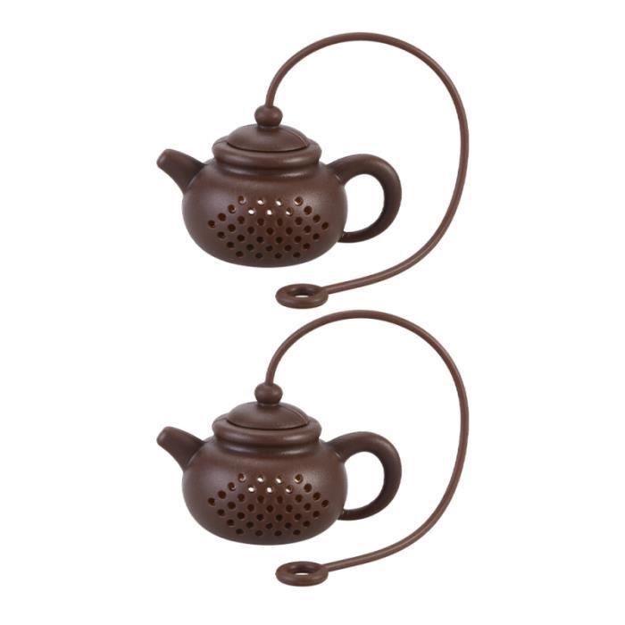 2 pièces infuseur de thé en vrac pratique de fruits passoire à filtre à pour café SODA-THE GLACE