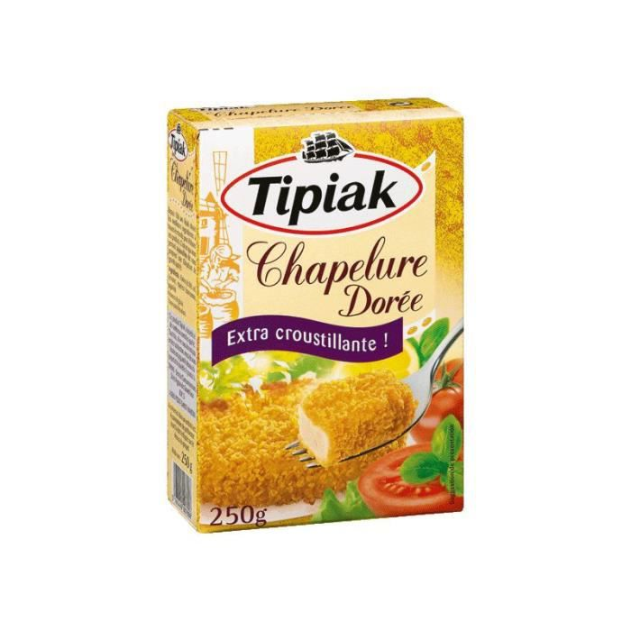 TIPIAK Chapelure Dorée 250 g