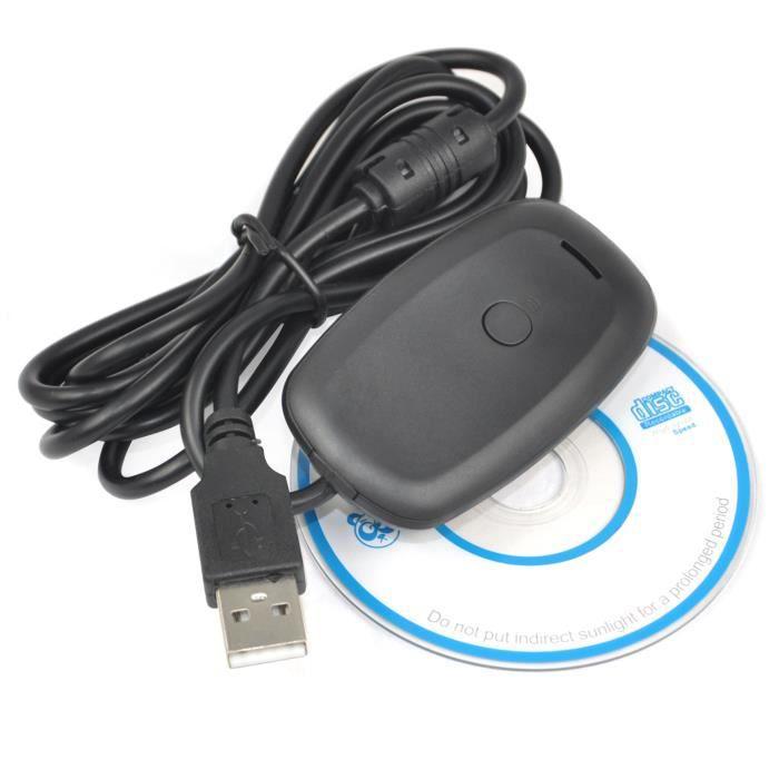 TRIXES PC Receveur sans fil USB pour Xbox 360 jeux adaptateur manette