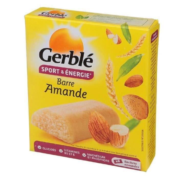 Barres amande 150g Gerblé