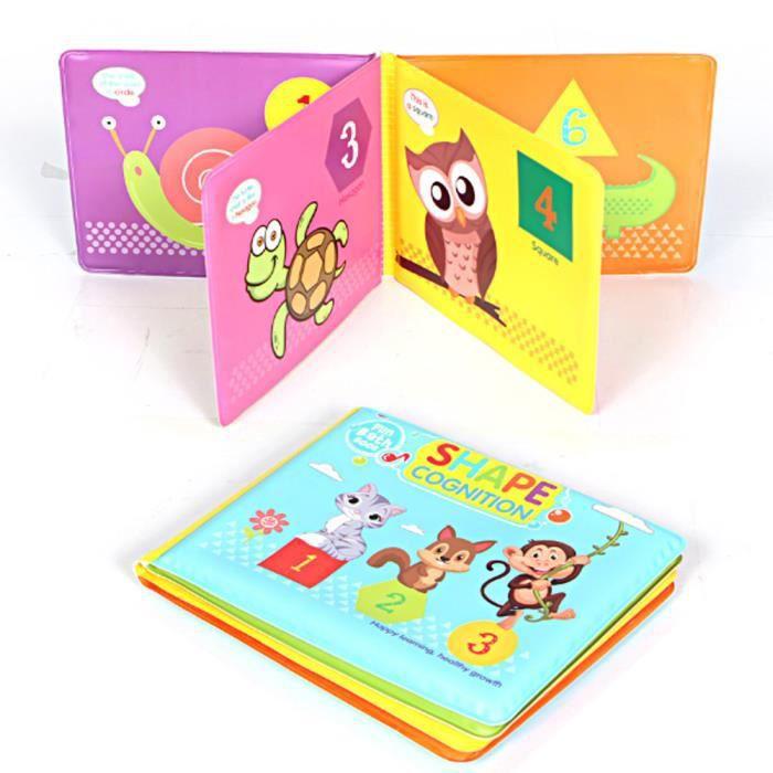 Livre De Bain De Bebe Jouets Educatifs Impermeables A L Eau