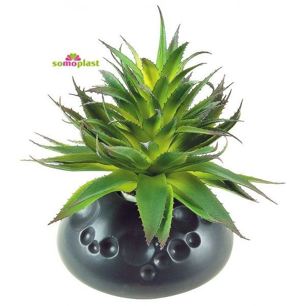 Plante verte artificielle grand cactus avec v achat for Plante verte tombante
