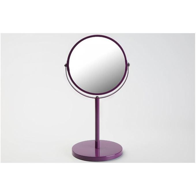 petit miroir d 39 appoint en verre violet pablo achat. Black Bedroom Furniture Sets. Home Design Ideas