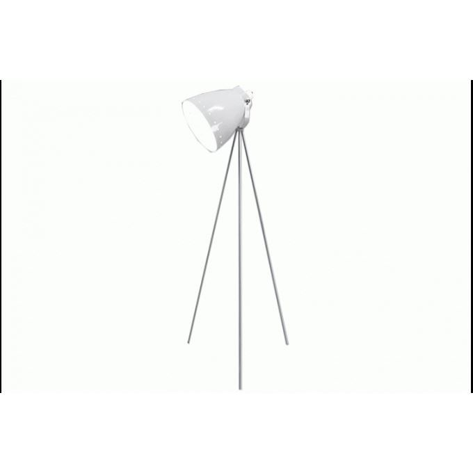 Lampe Trepied Blanche Marilyn H153 Cm Achat Vente Lampe Trepied Blanche Maril M Tal Cdiscount