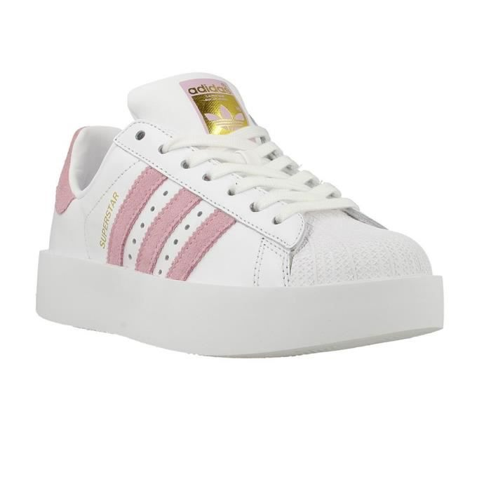 Chaussures Adidas Superstar Bold W Blanc Achat Vente