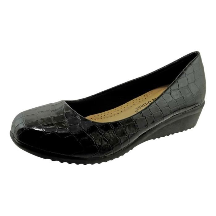 Relax-6 Vegan cuir Slip-on Mocassins ZCTFP Taille-39