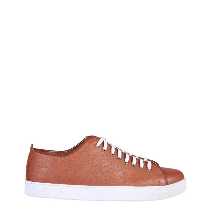 DERBY Pierre Cardin Brun Chaussures Sneakers