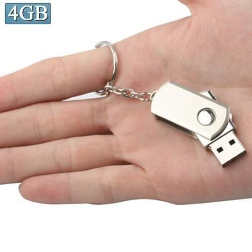 CLÉ USB Mini Clé USB 4 GO (Métal serie) Format porte-clé