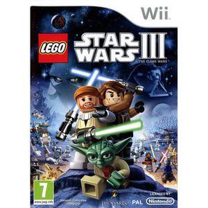 JEU WII LEGO STAR WARS 3 / Jeu console Wii