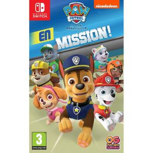 JEU NINTENDO SWITCH Pat'Patrouille en mission Jeu Switch