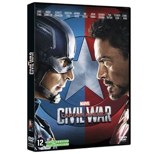 DVD FILM DVD Captain America CIVIL WAR
