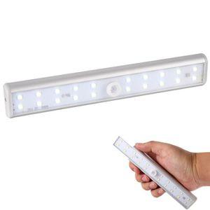 AMPOULE INTELLIGENTE Lampe Adhésif 20 LEDs Bande Eclairage Sans Fil Cap