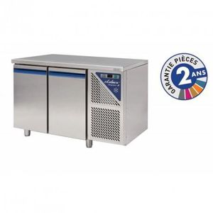 ARMOIRE RÉFRIGÉRÉE Table réfrigérée 300 L positive - 2 portes sans  g