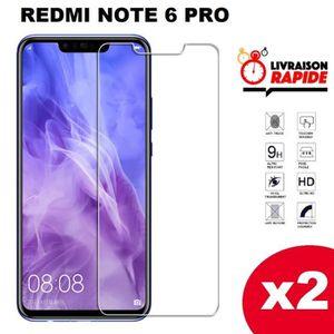 NONOAL Compatible avec Redmi Note 7//5 Film Verre Protection tremp/é Redmi Note 7 Super sensibilit/é Interaction Parfaite avec l/écran Tactile