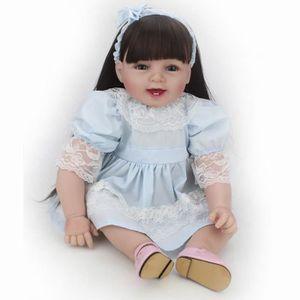 POUPÉE Silicone Reborn Bébé Princesse Éducation Bébé Poup