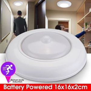PLAFONNIER Lampe de plafond LED détecteur de mouvement à pile