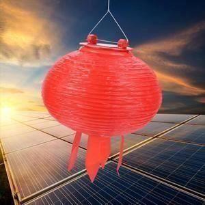 Solaire DEL Guirlande Électrique lampion des lanternes design jardin éclairage deco Lumière Asia