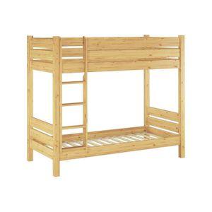 LITS SUPERPOSÉS 60.16-10-190oR Cadre de lit superposé pour adultes