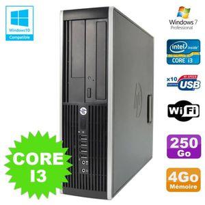 UNITÉ CENTRALE  PC HP Elite 8200 SFF Intel Core I3 3.1GHz 4Go Disq