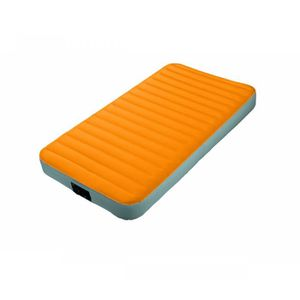 LIT GONFLABLE - AIRBED Matelas gonflable Intex fiber tech camping 1 place