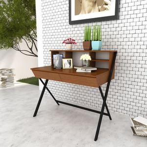 BUREAU  Table d'ordinateur à bureau salon travail ou étude