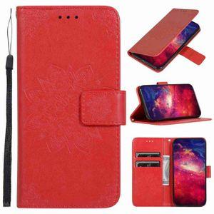 COQUE - BUMPER Coque iPhone 11,Rouge Fleur 1 Cuir Premium Porte-c