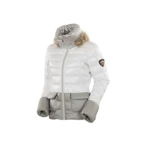 doudoune femme rossignol w aiko bicolor light down jacket blanc l prix pas cher cdiscount. Black Bedroom Furniture Sets. Home Design Ideas
